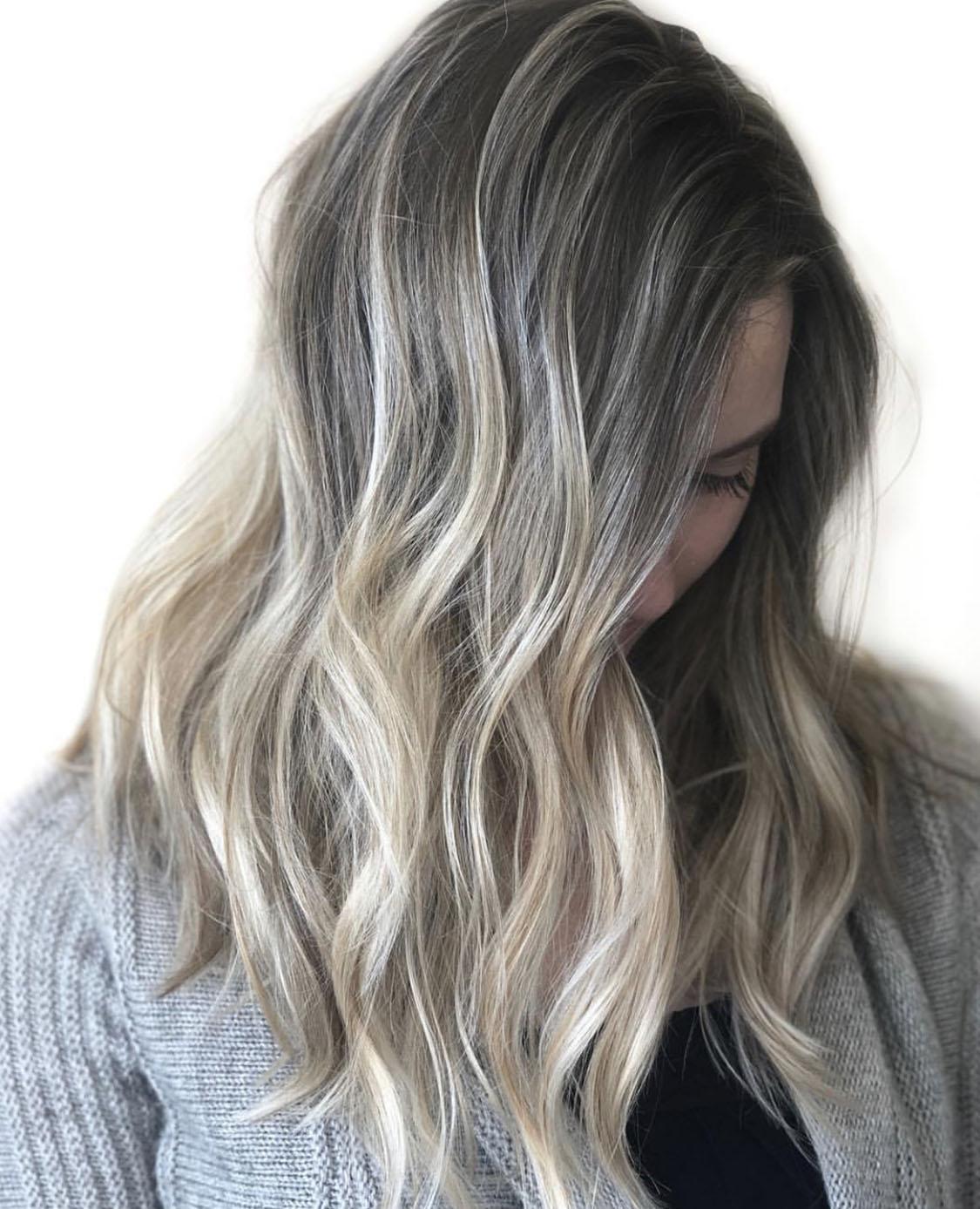Lived-in Blonding (Balayage/Foilayage)